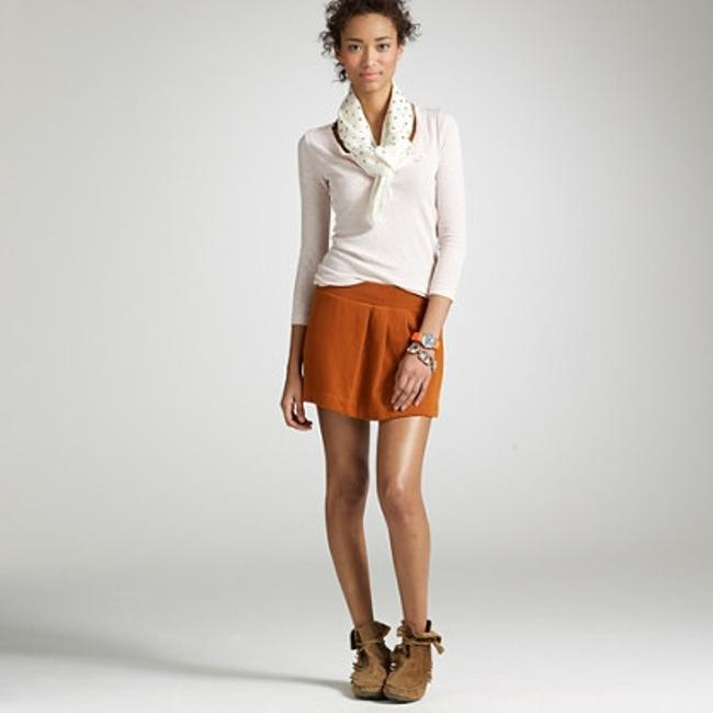 J.Crew Mini Skirt Rust