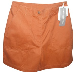 Jones New York Burnt Mini/Short Shorts orange