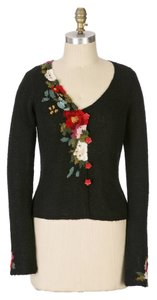 Anthropologie Etched Bloom By Guinevere Cardigan