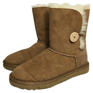 UGG Australia Button Boot Chestnut Suede Boots