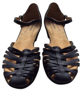 Softspots Black Sandals