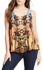 Twelfth St. by Cynthia Vincent Silk Racer-back Top Echo Park