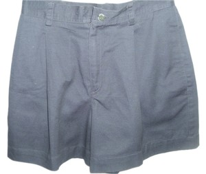 Liz Claiborne High Waist Pleated Vintage Turkish Mini/Short Shorts black