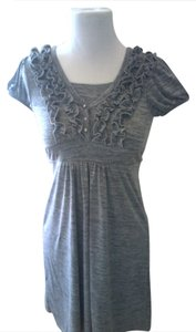 Speechless short dress grey Girls on Tradesy