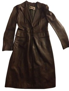 Plein Sud Leather Jacket Trench Coat