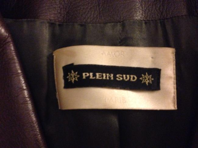 Plein Sud Leather Jacket Long Paris Full Length Trench Coat