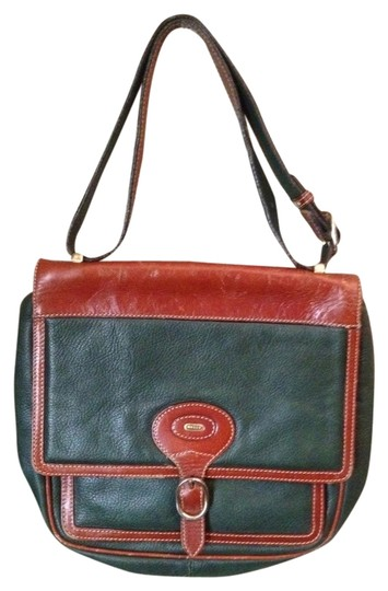 Preload https://item3.tradesy.com/images/bally-green-and-brown-leather-cross-body-bag-1005417-0-0.jpg?width=440&height=440