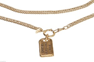 Chanel Chanel Gold Metal Rue Cambon Necklace