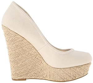 Madden Girl Ivory Wedges