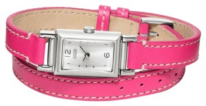 Coach BRAND NEW Coach Madison Stainless Steel Double-Wrap Watch