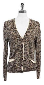 Marc by Marc Jacobs Multi Color Print Cotton Cardigan