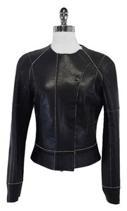 Kaufman Franco Black Leather Leather Jacket