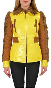 Just Cavalli Yellow/Brown Jacket