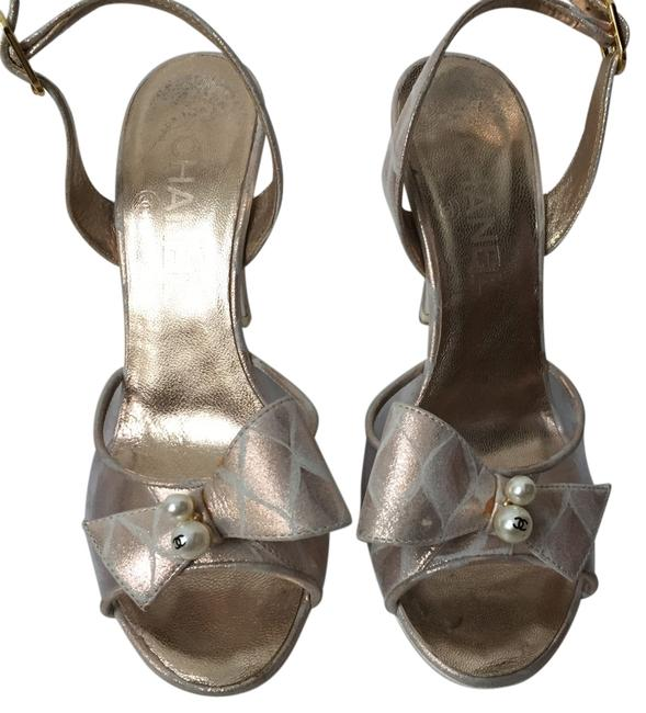 Item - Pink Gold/ Clear Formal Shoes Size US 5 Regular (M, B)