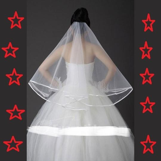 Generous 2 Layer Wedding Veil