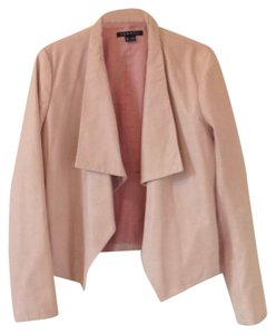 Theory Blushed pink Leather Jacket