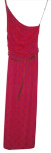 Link Circles Fuchsia Maxi Dress by Tart