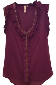 Robbi & Nikki by Robert Rodriguez Top Plum purple