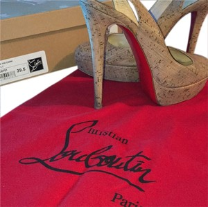 Christian Louboutin Cork Platforms
