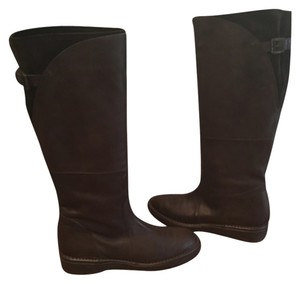 Alberto Fermani Leather Italian Knee Brown Boots