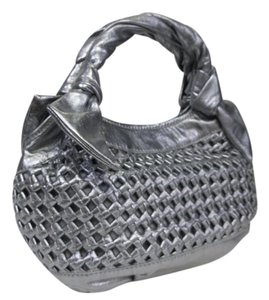 Lockheart Basket Weave Hobo Bag