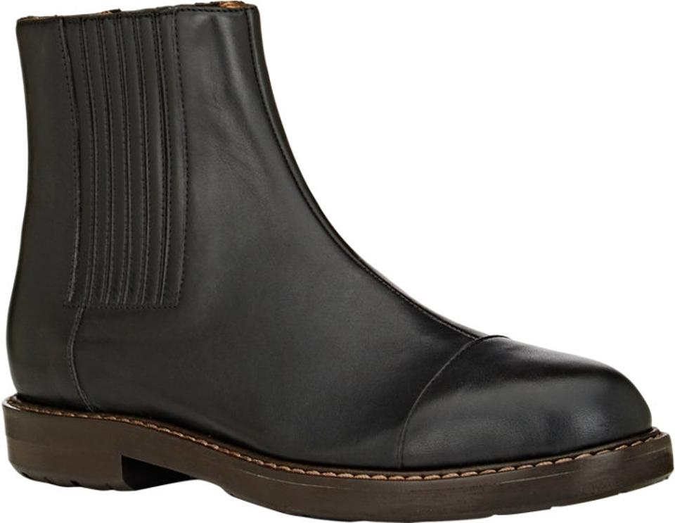 c456c5d4ff Marni Black Cap Toe Chelsea Boots Booties Size US 7.5 Regular (M
