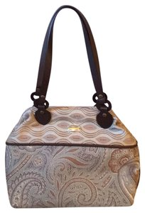 Handcrafted by Deb Satchel in Paisley Brown