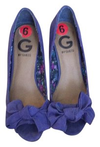Guess Purple Wedges