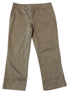 New York & Company Capris Taupe