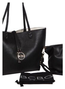 BCBG Paris Tote in Black/White