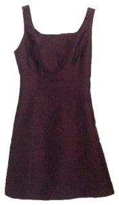 Aria short dress Brown on Tradesy