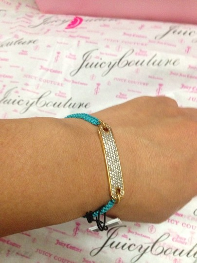 Juicy Couture 100% Authentic Juicy Couture Pave ID Friendship Bracelet YJRU7946