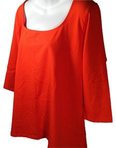 Jessica London Plus-size Top Orange