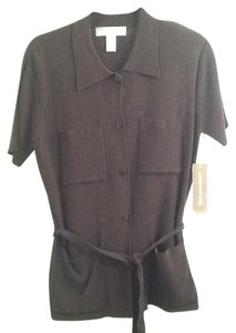 Jones New York Button Down Shirt Dark Grey