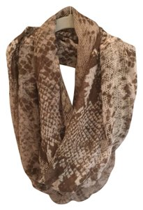 The Limited Textured Snake Print Infinity Scarf