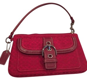 Coach Coach Wristlet with handle