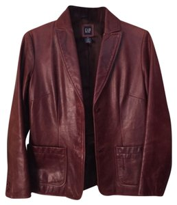 Gap Redwood Leather Jacket