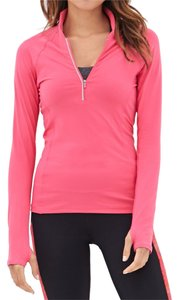 Forever 21 Forever 21 High Collar Running Jacket Workout Wear Active Pink Magenta