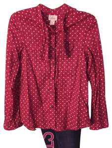 Levi's Button Down Shirt Light red
