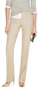 J.Crew Work Business Stretch Sand Basic Trouser Pants Khaki