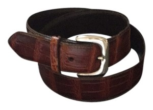 Nordstrom Genuine Alligator Belt
