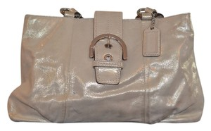 Coach Soho East West Satchel in Gold