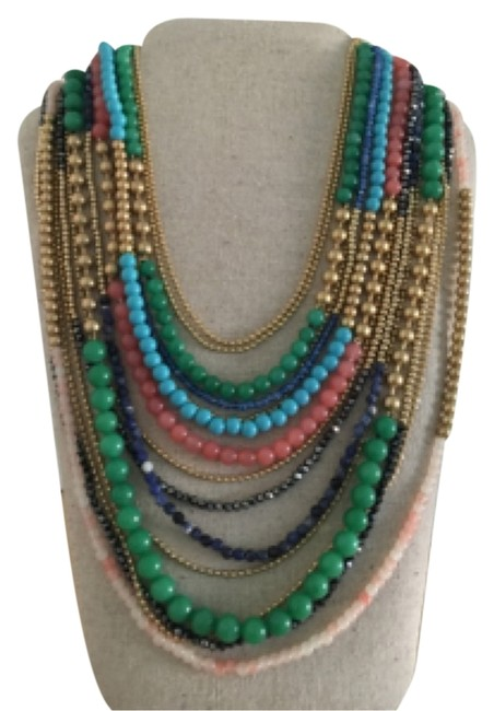 Item - Multicolor Zahara Bib Necklace