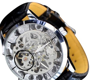 MCE International Luxury Mechanical Transparent Face Hand Wound Watch