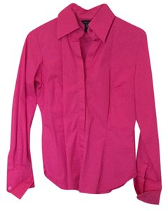Moda International Button Down Shirt Pink
