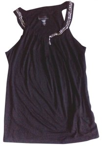Apostrophe Flowy Rayon Polyester Top black