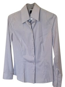 Express Button Down Shirt Blue