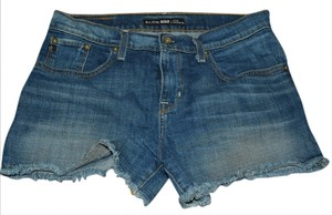 Big Star Cut Off Shorts Blue