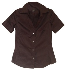 Banana Republic Button Down Shirt Brown