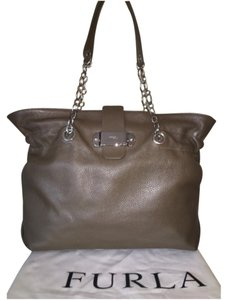 Furla Tote in Olive Green